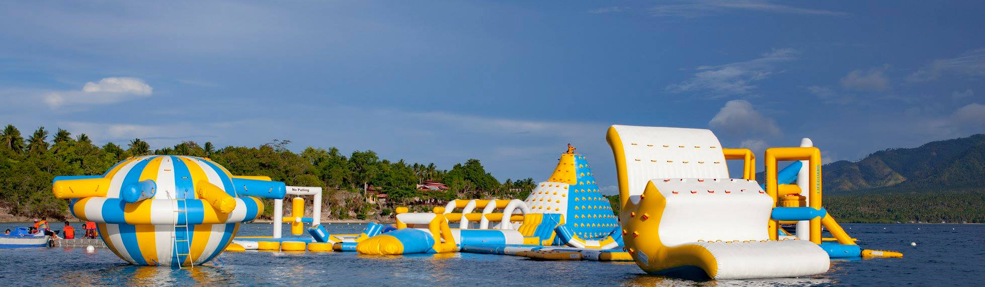 Blue Bless Resort; Adventure Island; Inflatable Island