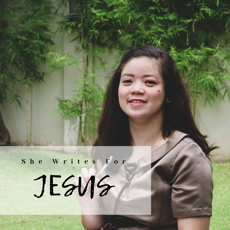 Mariann Lopera of She Writes for Jesus,  Featured Filipino Christian Blogger on Angelittle's site by Angelita Chua