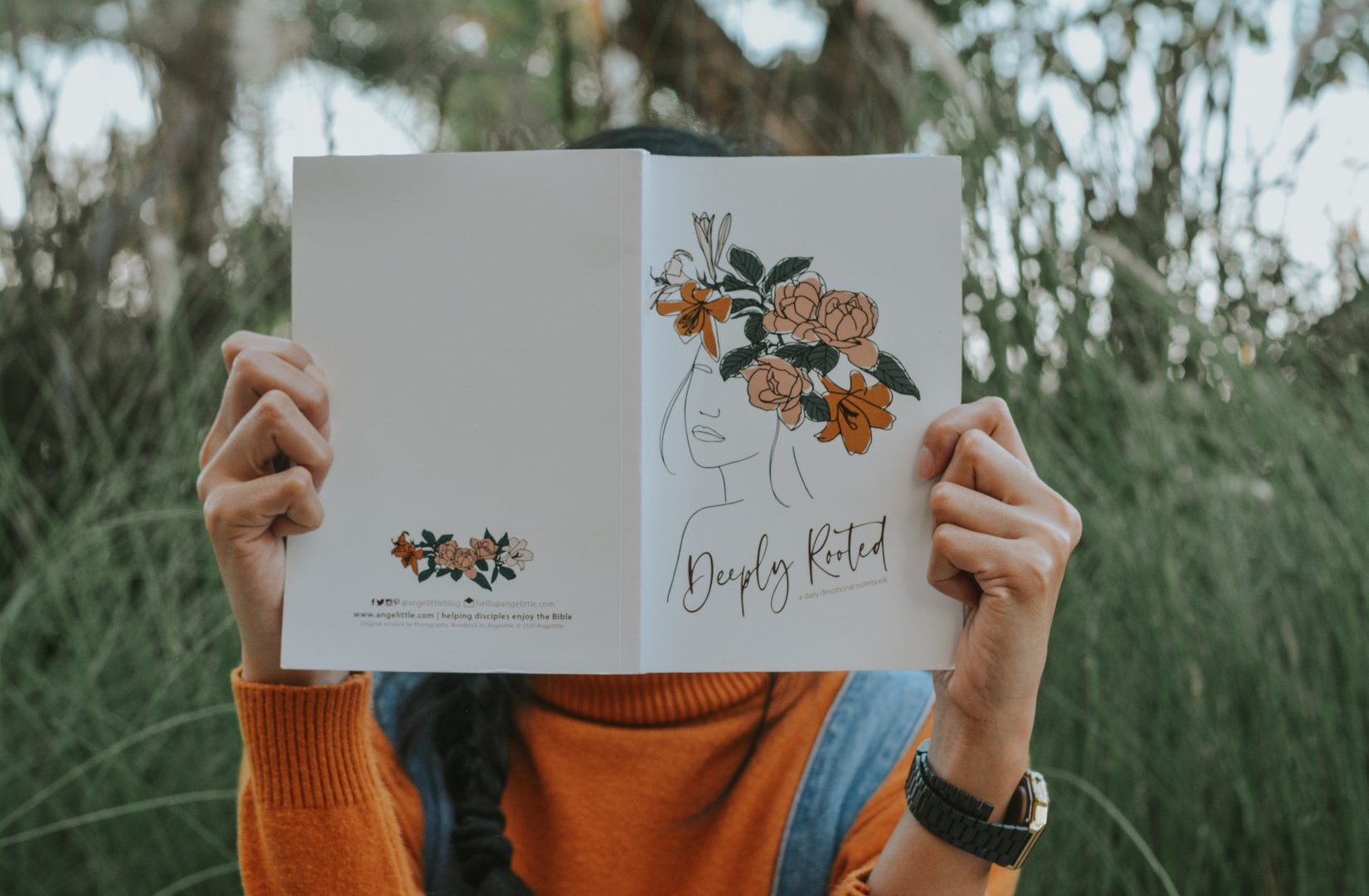 Deeply Rooted Devotional Notebook by Angelittle, Philippines