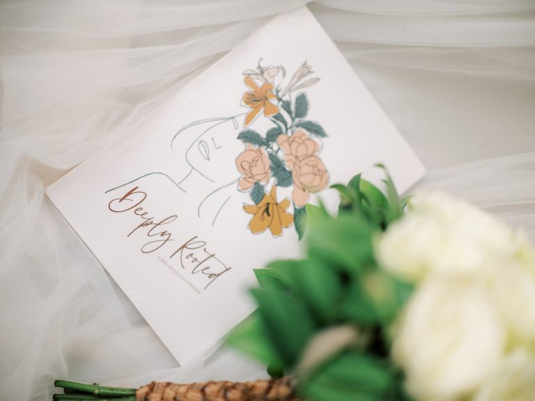 Cornerstone Wedding Photo, Angel Chua Elloren, Deeply Rooted Devotional, Journal Notebook on Shopee